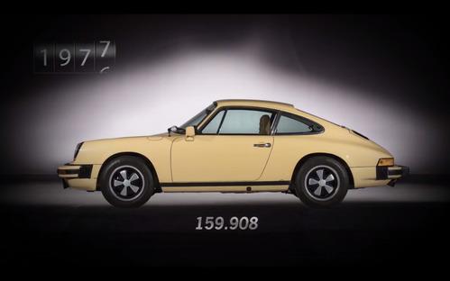 Все Porsche 911 от первого до миллионного.