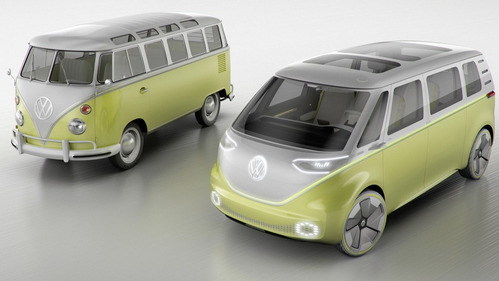Галерея концепт-кара Volkswagen I.D. Buzz.