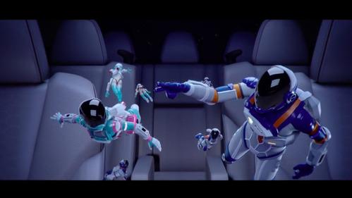 Subaru запустила в свой концепт Ascent миниатюрных космонавтов.