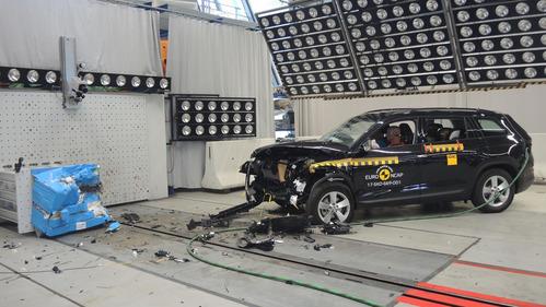 Skoda Kodiaq и MINI Countryman выстояли в краш-тесте Euro NCAP.