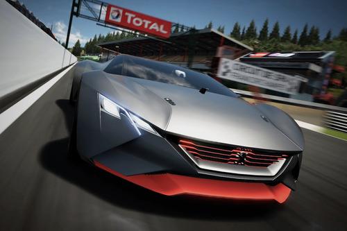 Peugeot показал концепт для игры Gran Turismo 6. Новости от am.ru