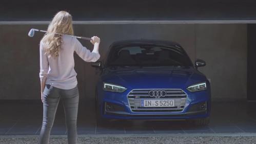 Реклама новой Audi S5 Sportback – смотреть видео на Am.ru