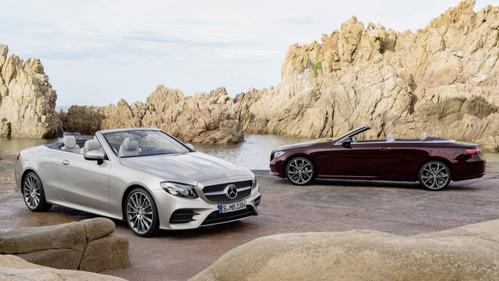 Фотогалерея кабриолета Mercedes-Benz E-Class нового поколения.