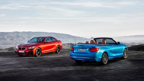 Фотогалерея BMW 1-Series и 2-Series 2018 модельного года.
