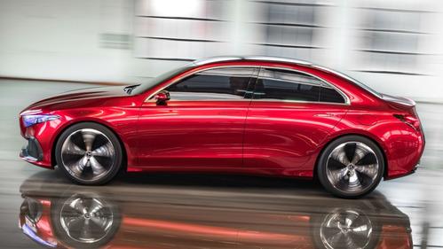 Новый Mercedes А-класса сделают похожим на двухдверки AMG-GT.