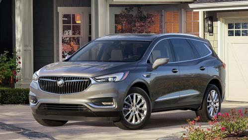 Buick представил кроссовер Enclave второго поколения.Новости Am.ru