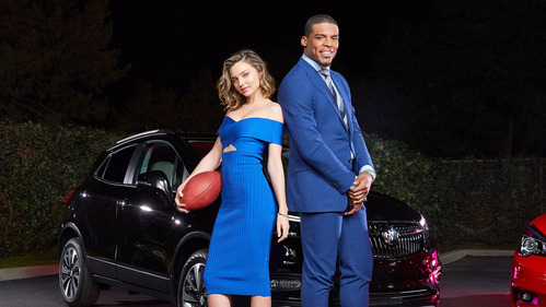 Реклама Buick Encore и Cascada с Мирандой Керр и Кэмом Ньютоном – смотреть видео на Am.ru