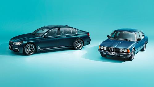 40-летие BMW 7 Series отметят спецверсией.