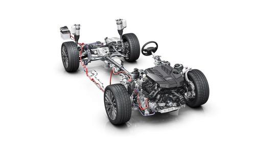 Мягкий гибрид новой Audi A8 поможет экономить топливо как система старт-стоп