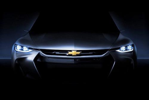 В Шанхае дебютирует новый полноприводный концепт Chevrolet.