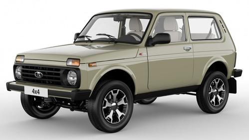 Lada рассекретила юбилейную версию «Нивы» 4х4 40th Anniversary. Новости Am.ru