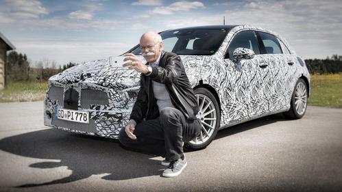 Mercedes-Benz А-класса засветился в соцсети.Новости Am.ru