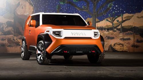 Фотогалерея Toyota FT-4X Concept.