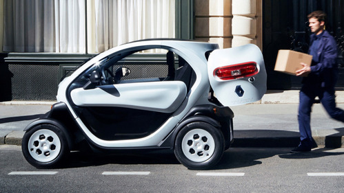 Фотогалерея Renault Twizy и Twizy Cargo.