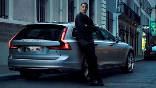 Златан Ибрагимович снялся в рекламе Volvo V90 – смотреть видео на Am.ru