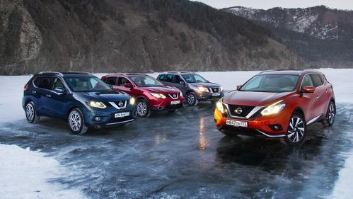 Вместе с Nissan мы выехали на лёл озера Байкал.