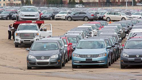 Больше половины проблемных автомобилей Volkswagen выкуплены или отремонтированы в США.