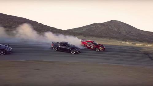 Toyota GT85 с мотором от Ferrari впервые вышел на трек – смотреть видео на Am.ru