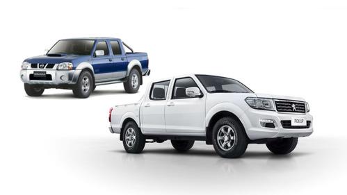 Фотогалерея Nissan Navara 1997, Dongfeng Rich 2014 и Peugeot Pick Up 2017.