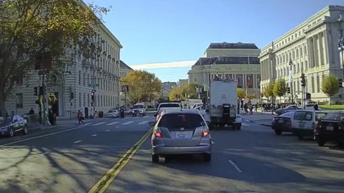 Автономный Chevrolet справился с поездкой по Сан-Франциско.