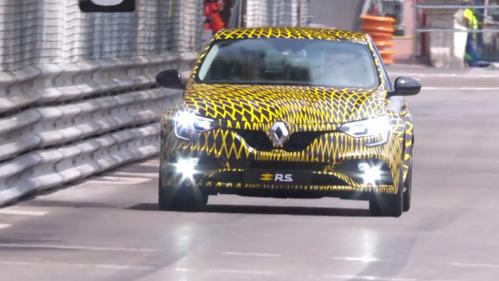 Хот-хэтч Renault Megane 4 RS засветился в Монако.