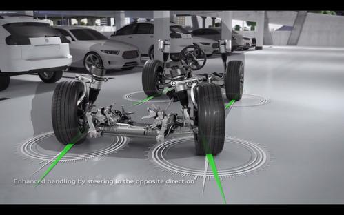 Новая Audi A8 будет подруливать задними колёсами.