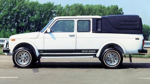 ВАЗ-2329 вернётся на рынок как Lada Logo