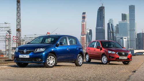 Сравнительный обзор Datsun mi-DO и Renault Sandero
