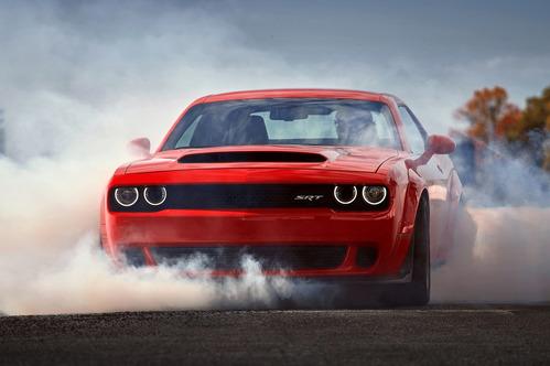 Официальные фотографии Dodge Challenger SRT Demon - смотреть фото на Am.ru.