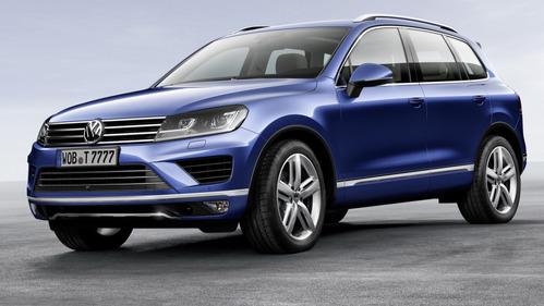 Volkswagen Touareg в России теперь только  из Словакии.
