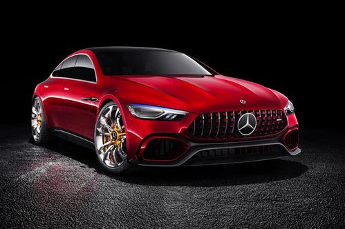 Официальные фотографии Mercedes-AMG GT Concept – смотреть фото на Am.ru