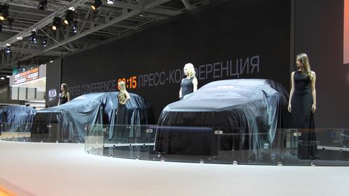 Шесть концептов Lada на ММАС-2016