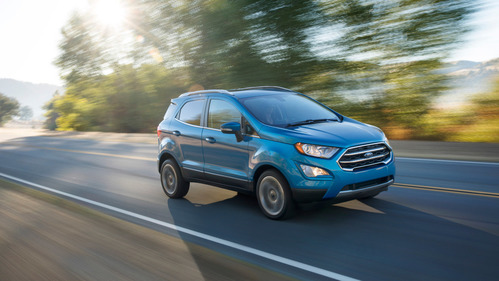 Фотогалерея Ford EcoSport для рынка США.