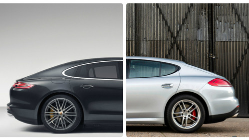 Сравнение двух поколений Porsche Panamera – читать статью на Am.ru