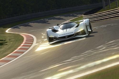 Mazda создала виртуальный прототип LM55 Vision для Gran Turismo 6