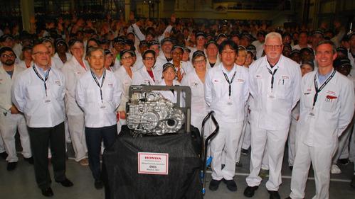 Honda запустила производство новых автоматом в США.