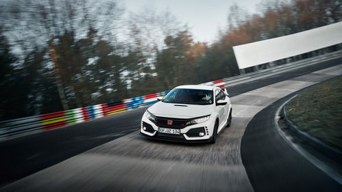 Civic Type R снова самый быстрый на Северной петле.