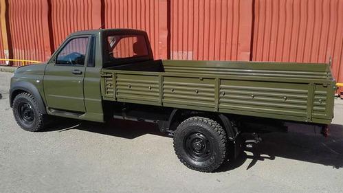 UAZ Profi замечен в военной раскраске.