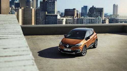Фотогалерея обновлённого Renault Captur 2018 модельного года.