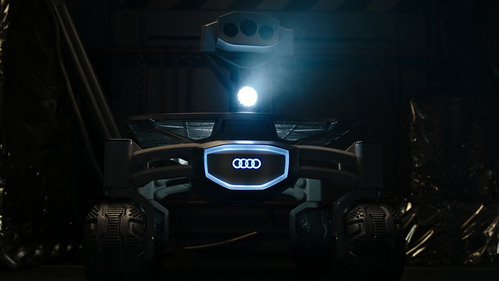 Луноход Audi снялся в ролике про Чужого
