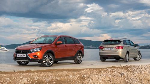 Lada представила Vesta SW и Vesta SW Cross.Новости Am.ru