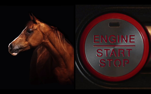 Ford Mustang получил пульсирующую красную кнопку запуска.