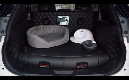 Nissan порадовал собачников концептом X-Trail 4Dogs.