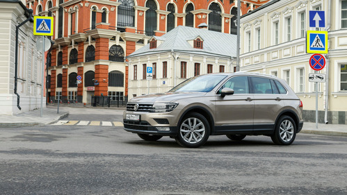 Тест-драйв Volkswagen Tiguan 2 поколения на Am.ru.