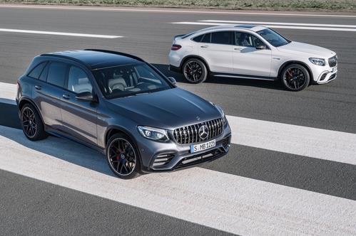 Официальные фотографии Mercedes-AMG GLC 63 и Mercedes-AMG GLC 63 S Coupe  - смотреть фото на Am.ru.