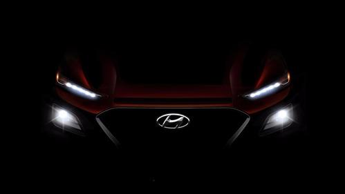 Hyundai опубликовал первый тизер кроссовера Kona