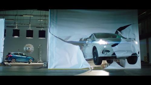 Покатушки на Fiesta ST в новом ролике Ford.