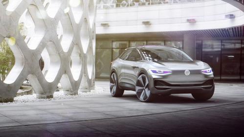 Фотогалерея Volkswagen I.D. Crozz.