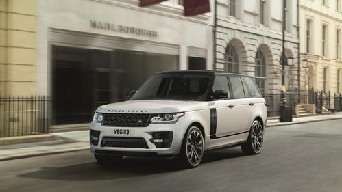 Range Rover получил дизайн-пакет от SVO.