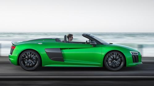 Audi R8 Spyder получила версию V10 plus.Новости Am.ru